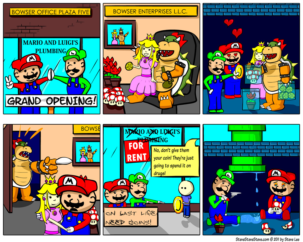 The Mario Brothers: How The Story Began